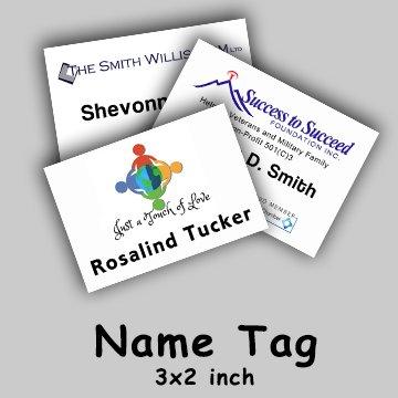 Name Tag Badge Printing