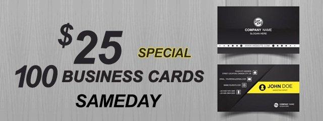 Atlanta Business Cards Serivces