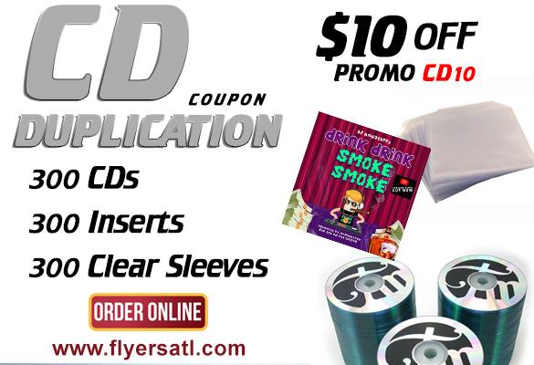Atlanta CD Duplication Special